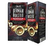 Barissimo German Roasted Vacuum Pack Regular Ground Coffee Fair Trade (German Regular Roast, 2 Count)