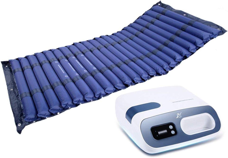 GLJY Spezielle Anti-Decubitus Medizinische Luftmatratze-Schlieen Aufblasbare Pumpe Mit EIN (Tiefes Blau)