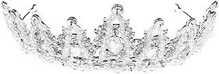LUCKYYY Accessori da Sposa per Corona da Sposa Corona per Capelli