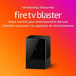 Introducing Fire TV Blaster - Add Alexa voice controls for power and volume on your TV and soundbar (requires compatible Fire TV and Echo devices)