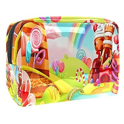 Trousses de Toilette,Lollipops de Cupcake de Bonbons ,Trousse de Maquillage,Trousse de Maquillage pour Femmes et Filles,Trousse de Rangement
