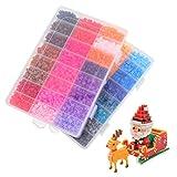 Exceart, perline di carta da stirare, 5 mm, 48 colori, perline di sicurezza, per bambini, per il fai da te, materiale per Natale e artigianato