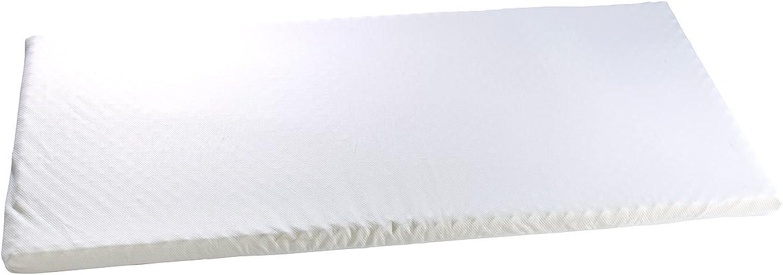 Newgen Medicals Matratzentopper  Matratzenauflage aus thermoaktivem Memory-Foam mit Bezug, 90x200x10 cm (Memory Foam Matratzen)
