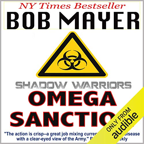 The Omega Sanction audiobook cover art