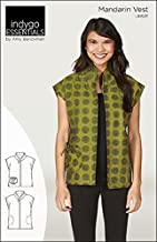 Indygo Junction Essentials Mandarin Vest Sewing Pattern