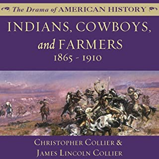 Indians, Cowboys, and Farmers, and the Battle for the Great Plains audiobook cover art