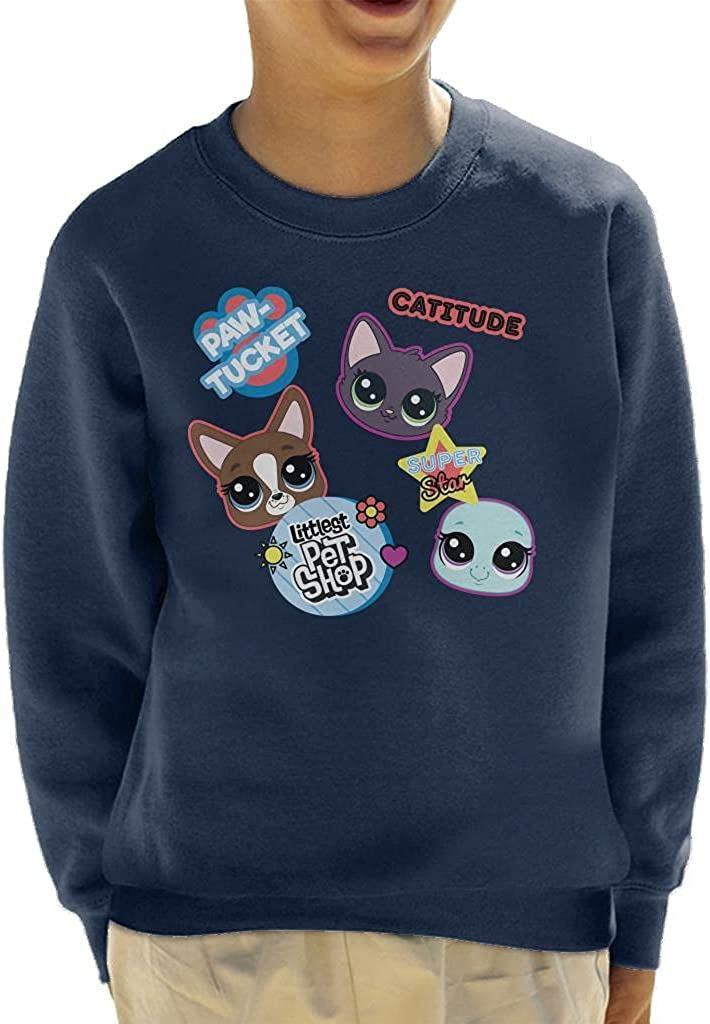 Littlest Pet Shop Roxie Paw Tucket Kid's Sweatshirt