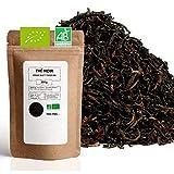 Thé Noir Bio ★ Assam Blatt TGFOP ★ Thé Noir en Vrac ★ Sachet 200 grammes avec Zip ★ 80 Tasses ★ 100% Agriculture Biologique ★ Thé Noir de Qualité