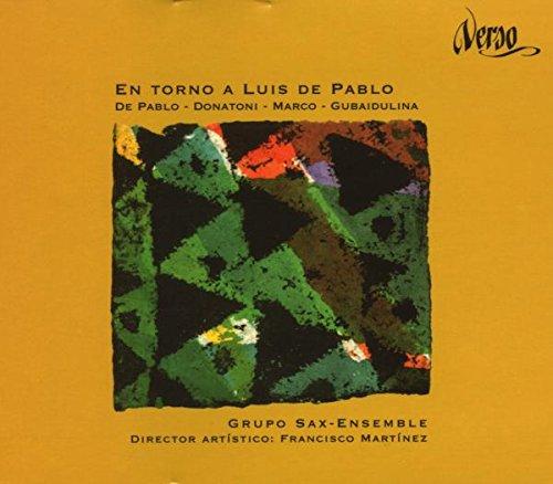 De Eusebio/ Grupo Sax-Ensemble En Torno A Luis De Pablo Other