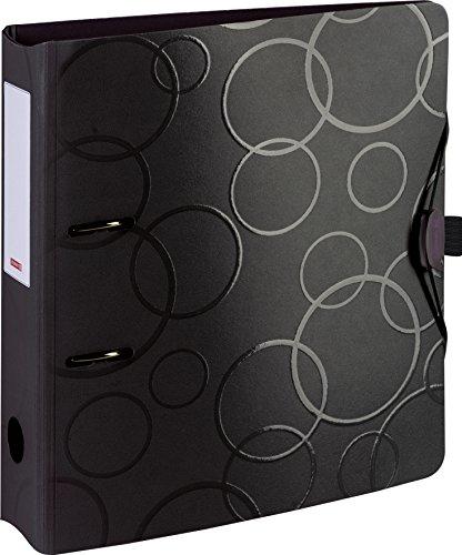 Brunnen 102042790 Colour Code Ordner (aus strapazierfähigem Kunststoff, Polyfoam) schwarz/onyx