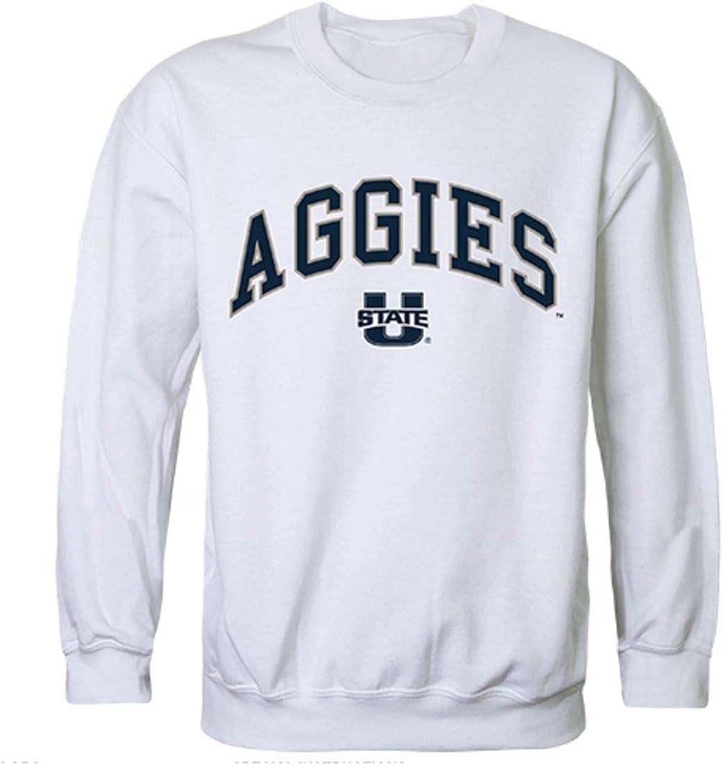 おしゃれ W Republic Utah State Uni Crewneck Pullover 新色 Sweatshirt Sw Campus