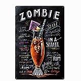 Original Vintage Design Zombie Cocktail Rezept
