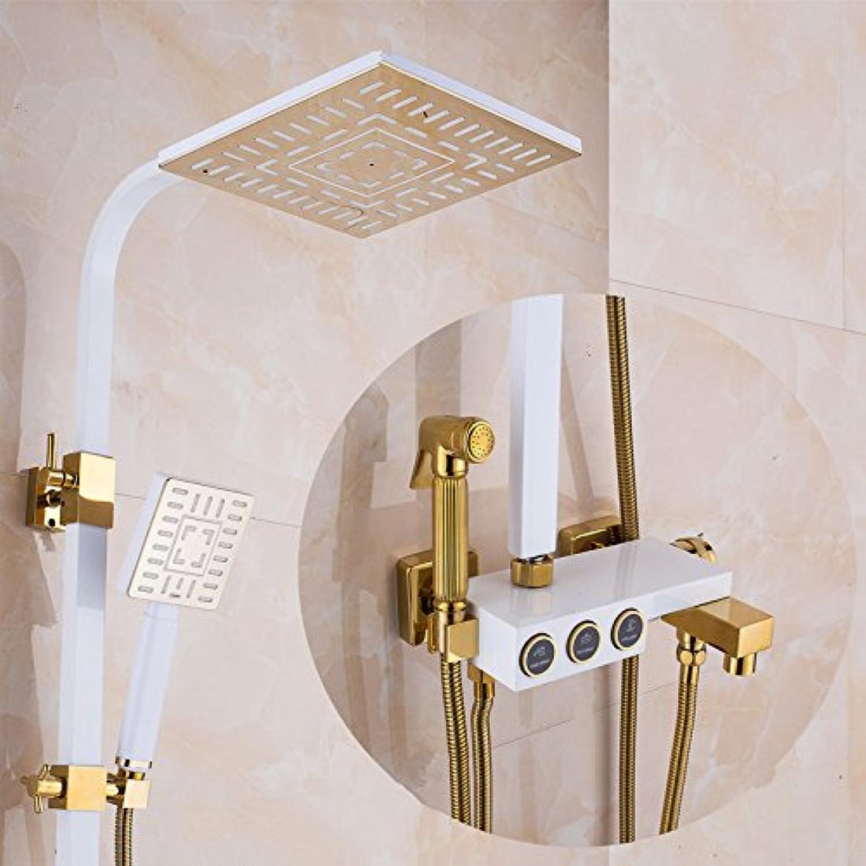 ZHFCvoller kupfer shower dusche stellen,weie abschnitt