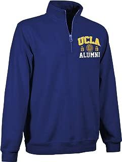 E5 UCLA 1/4 Quater Zip Alumni Sweatshirt Navy - 9A511