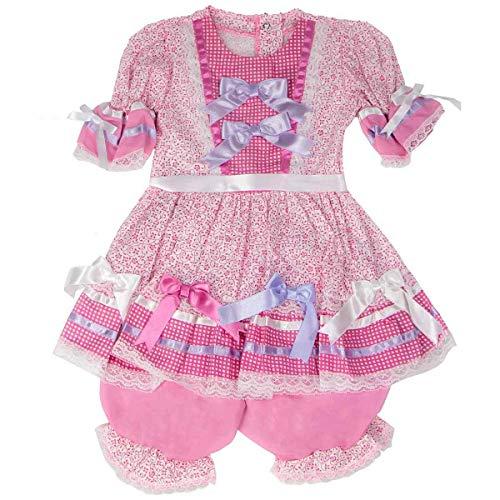 Vestido de Festa Junina Caipira Bebê Luxo M - 2