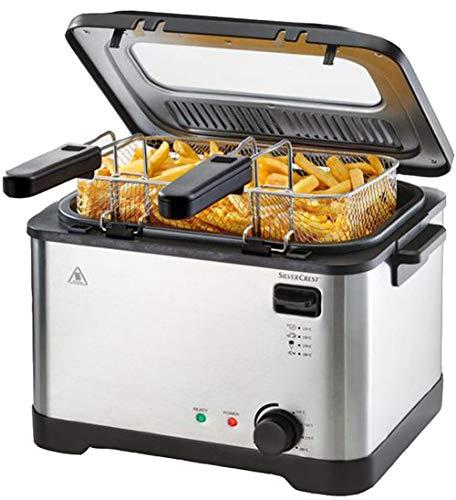 Roestvrijstalen friteuse SEF3 2000 D3 heteluchtfriteuse friteuse hetelucht friteuse olievolume: max. 4 l.