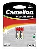 Camelion 11000201 - Plus Alkaline High Energy Batterie N/LR1/Lady mit 1,5 Volt, 2er Set, Kapazität 750 mAh