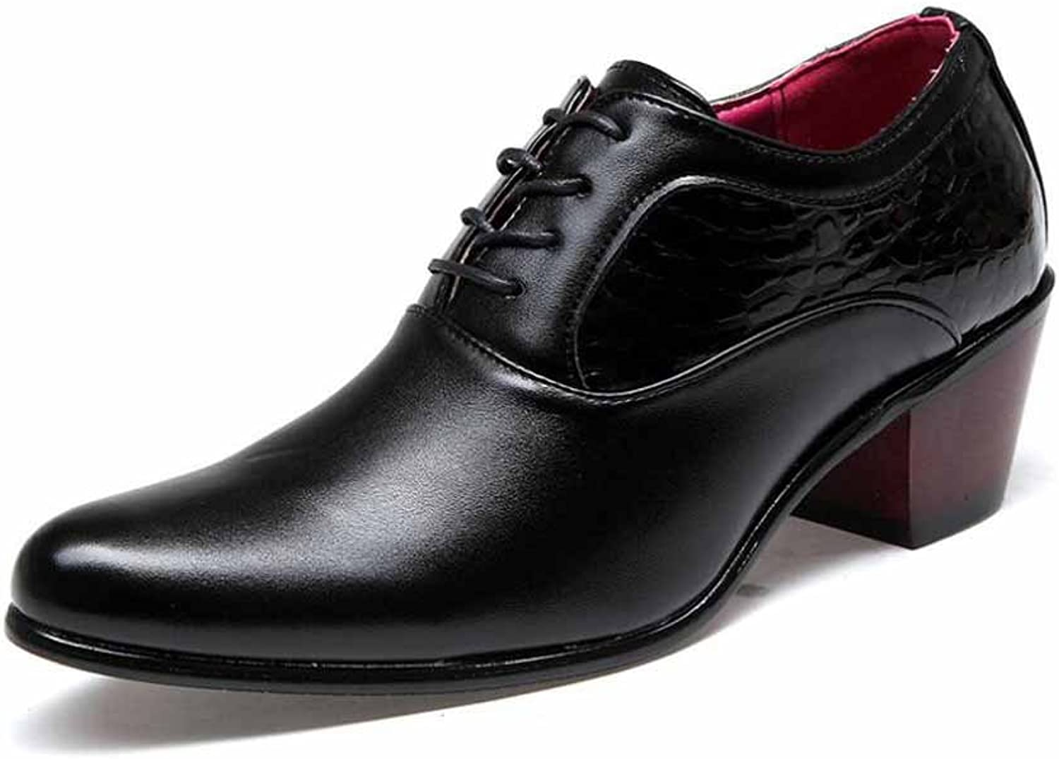 Men Casual Derby shoes New Pointed Business Dress shoes British Wedding shoes