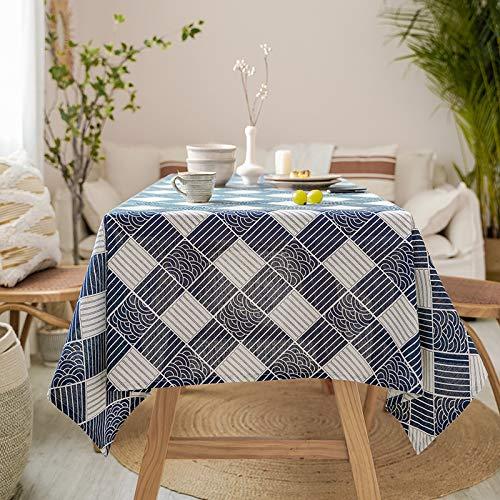PhantasyIsland.com Cocina Decorativa, Mantel a Prueba de Polvo de Cafetería