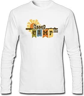 Hefeihe DIY Summer Camp Music Festival 2016 Logo Men's Long-Sleeve Fashion Casual Cotton T-Shirt