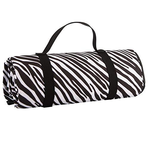 Summerhouse Madagascar Picnic Blanket Zebra Stripe