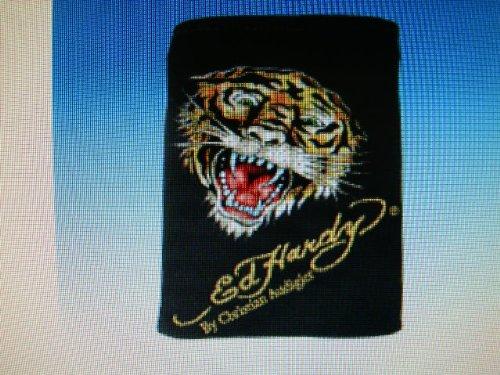 Preisvergleich Produktbild Ed Hardy Handytasche - Handybag Tiger