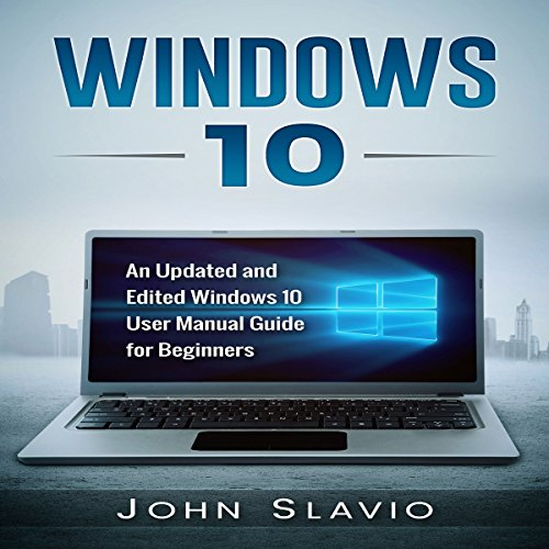 Windows 10 audiobook cover art