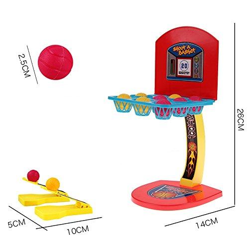PowerBH Mini Basketball Spiele Desktop Tisch Basketball Shooting Game Spielzeug Spiel Sport Hoop Geschenk-Set