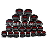 Aimfiree Rifle Scope Quick Flip Spring Up Open Lens Cover Eye Protect Objective Cap for Caliber Hunting Accessories (44mm)