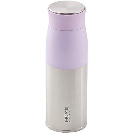 MOMO CONCEPT(モモコンセプト)水筒 真空断熱 軽量 ルピナスタンブラー 400ml (パープル)
