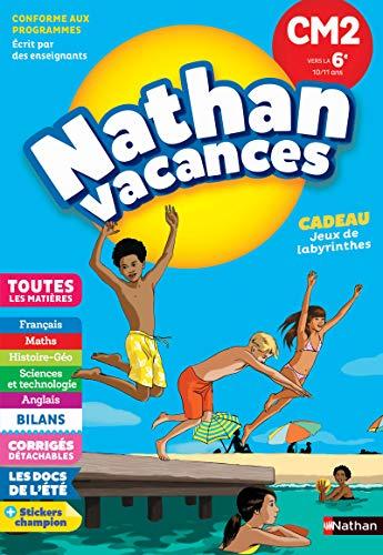 Cahier de Vacances 2020 du CM2 vers la 6ème - Nathan Vacances - 10/11 ANS