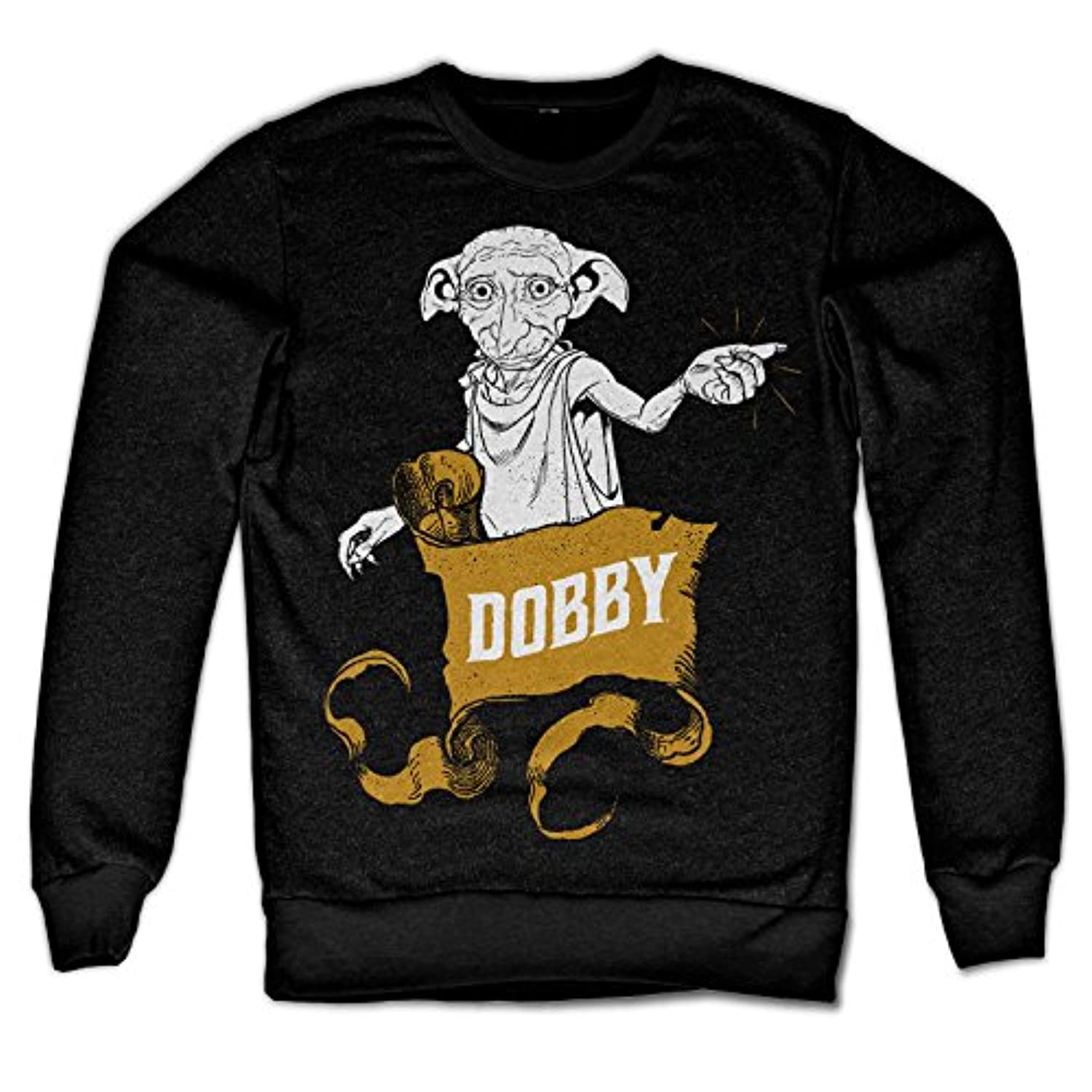 Officially Licensed Inked Harry Potter - Dobby Sweatshirt (Black)
