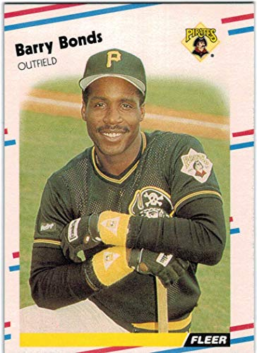 1988 Fleer with Update Pittsburgh Pirates Team Set with Barry Bonds & Bobby Bonilla - 27 MLB Cards