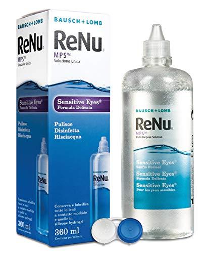 Renu Solution unique pour lentilles à contact – 360 ml.