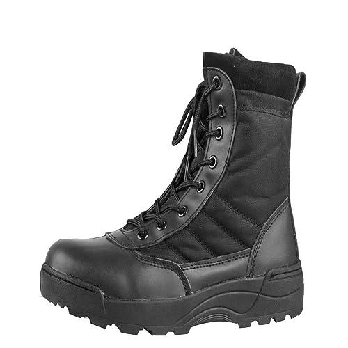uirend Botas Servicio Militar Calzado Trabajo Zapatos Hombre - Botines Desert Militares Ejército Táctico Al Aire