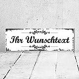 WERBEPUNKT. Vintage Shabby Nostalgie Holzschild Dekoschild Namensschild Türschild Haustür