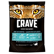 PaylesswithSS Crave Adult Salmon & Whitefish Dry Cat Food Economy Pack: 5 x 750g