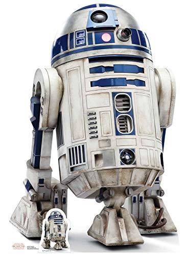 STAR CUTOUTS R2-D2 The Last Jedi Kartonaufsteller in Lebensgröße