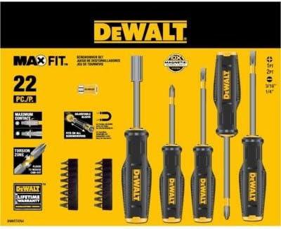 Dewalt Maxfit Screwdriver Set (22-piece)
