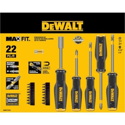 Dewalt Maxfit 22-piece Screwdriver Set