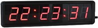 Fitness träningstimer 4,6 cm intervall timer programmerbar gym för sportträning nedräkning timer väggmonterad installation...