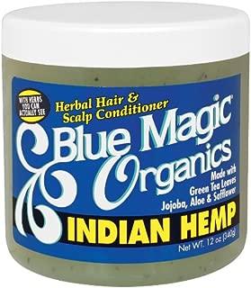 Blue Magic Originals Indian Hemp 12 Ounce Jar (354ml) (2 Pack)