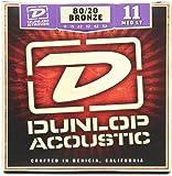 Jim Dunlop DAB26 80/20 Bronze Acoustic Guitar 26 Gauge, Medium G String