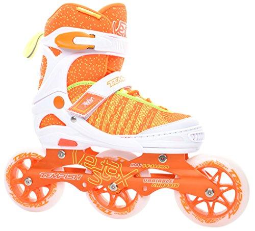 Tempish Kinder Outdoor-inlineskates Für Kinder, Orangefarben VESTAX, Orange, 39-42, 1000025