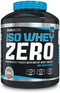 Iso Whey Zero - 5.0 lbs - Vanilla - Biotech by BiotechUSA