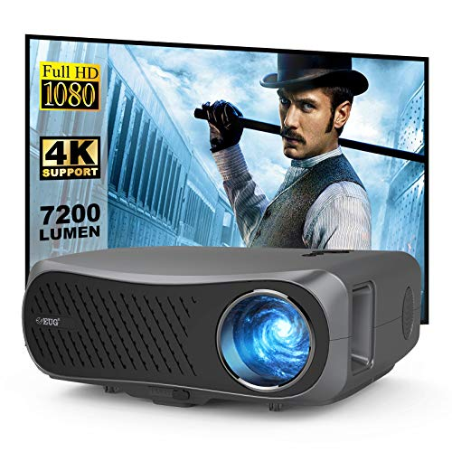 1920 x 1080P Projector 7000 Lux, Support 4k