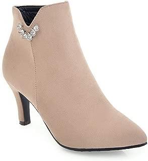 BalaMasa Womens ABS14003 Pu Boots