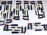 15 x Schraubzwinge Set 150x50 + 200x50 + 250x50 Zwinge Klemmzwinge Einhandzwinge