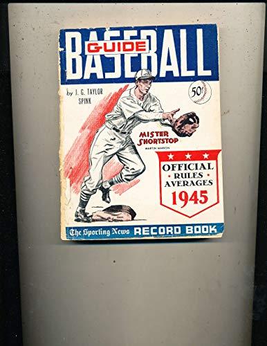 1945 Baseball Guide TSN ex corner creases bxbg