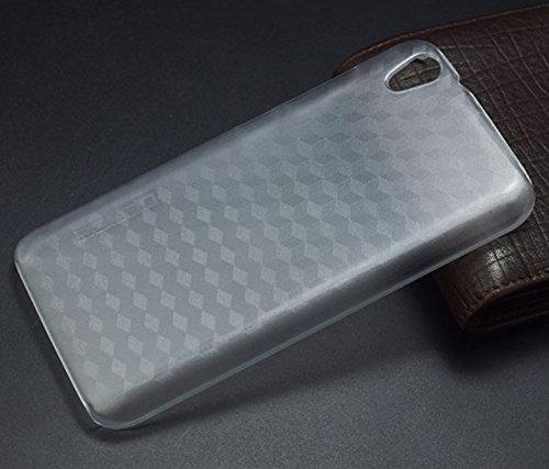 PREVOA ® 丨Transparent Hartplastik Hülle Hülle Schutzhülle Tasche für UMIDIGI Diamond / Umi Diamond X Smartphone - (Transparent)